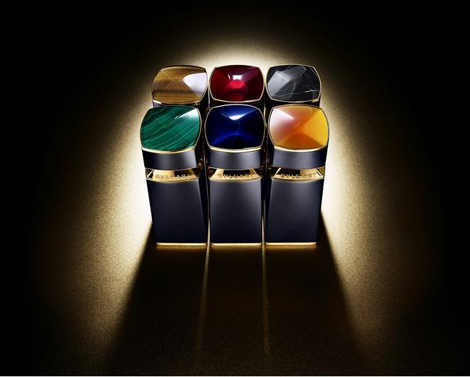 Шесть камней — шесть флаконов BVLGARI