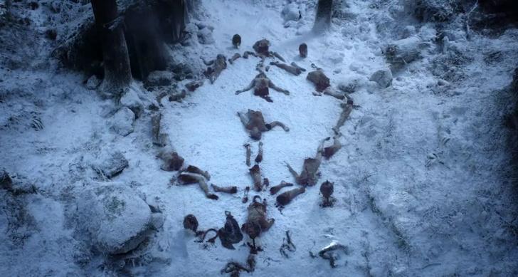 Фото №3 - Вот что означают зловещие символы, которые оставляет Король Ночи