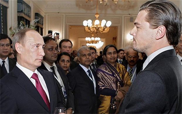 Фото №1 - Ди Каприо — лучший Путин!