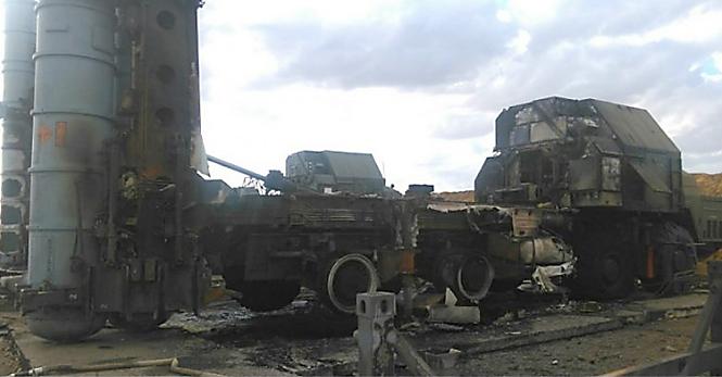 Фото №1 - Очевидец снял на видео взрыв неудачно стартовавшей зенитной ракеты С-300