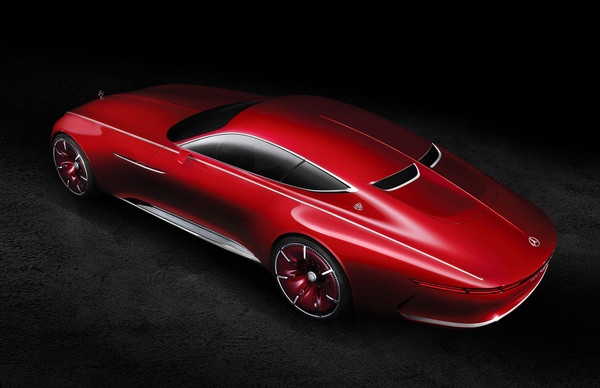 Купе Vision Mercedes-Maybach 6 (2016 г.)