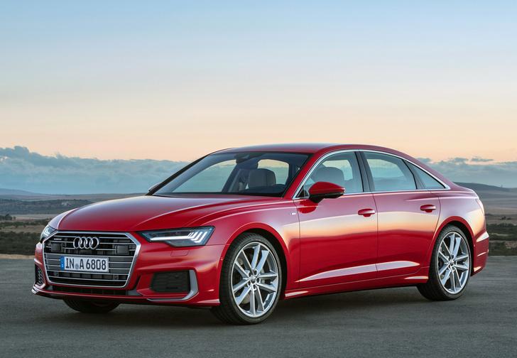 Фото №1 - Новый Audi A6 готов обходиться без водителя
