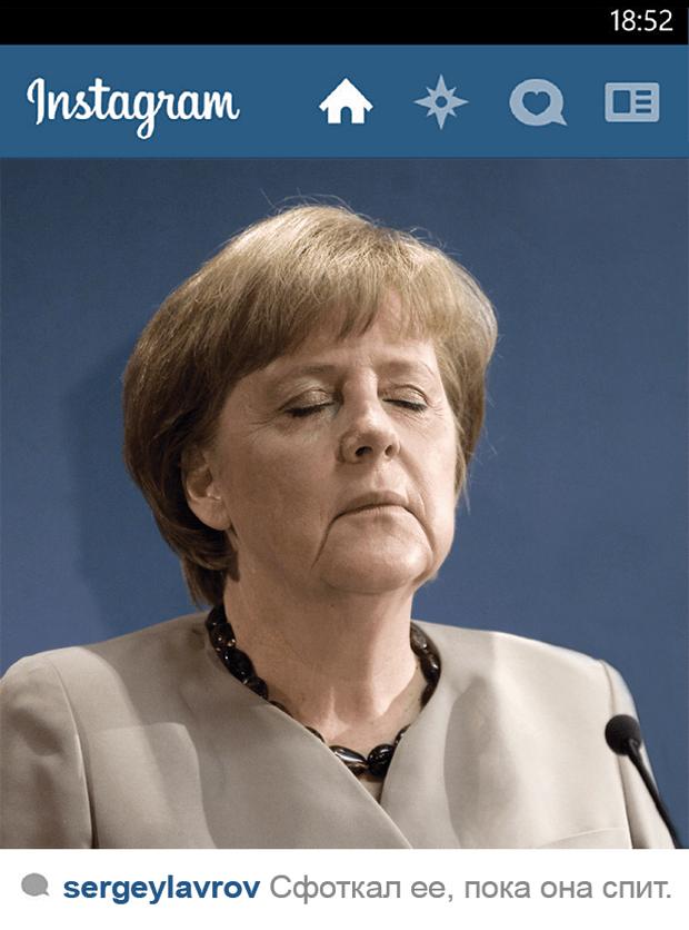 Инстаграм Ангела Меркель