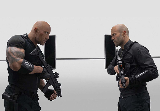 Фото №1 - MAXIM рецензирует блестящий, как лысины его героев, боевик «Форсаж: Хоббс и Шоу»