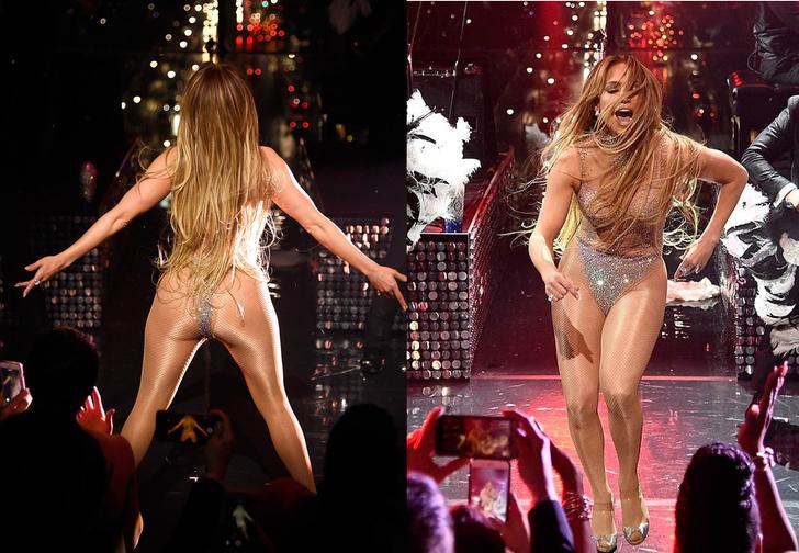 Фото №2 - Дженнифер Лопес показала сияющие стринги во время концерта!