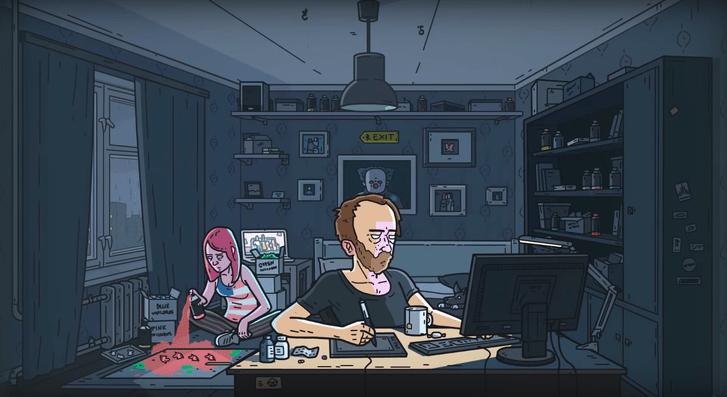 Фото №2 - YouTube-канал недели: мини-мультфильмы от аниматора Lazy Square