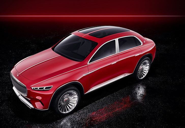 Фото №1 - Vision Mercedes-Maybach Ultimate Luxury — внедорожник для шейхов