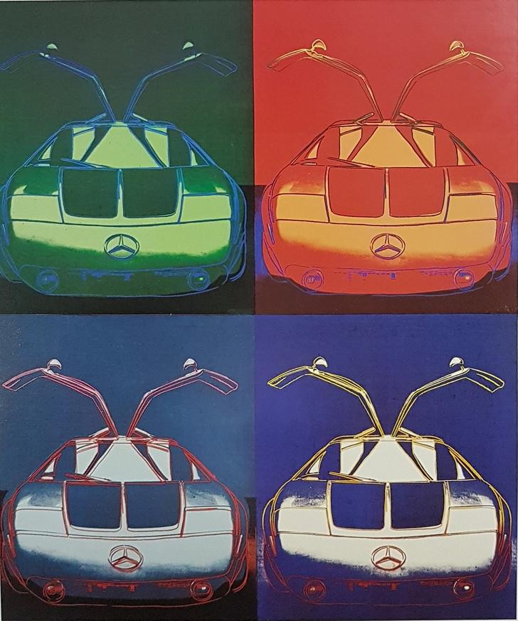 Фото №2 - «Любимая машина Энди Уорхола»: выставка легендарного художника пройдет в салоне Mercedes-Benz