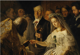 Неожиданная история, стоящая за картиной «Неравный брак»