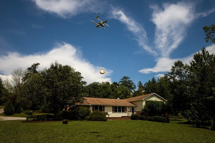 Фото №1 - В США первая компания получила лицензию на доставку грузов дронами