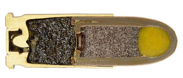 Фото №11 - 17 фотографий разрезанных патронов