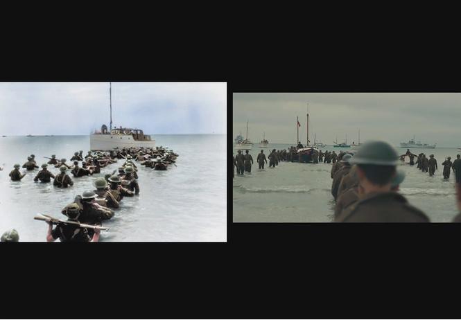 Архивные кадры Второй мировой сравнили с видеорядом «Дюнкерка» (ВИДЕО)