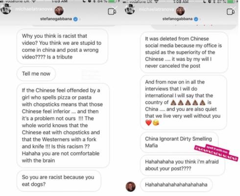 Фото №4 - Расследование MAXIM: Dolce & Gabbana пришлось отменить показ в Китае из-за двух маленьких черточек