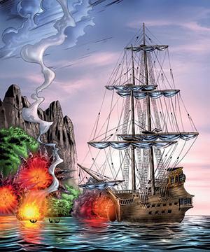 Фото №2 - Пираты Каспийского моря: непридуманная история российских пиратов