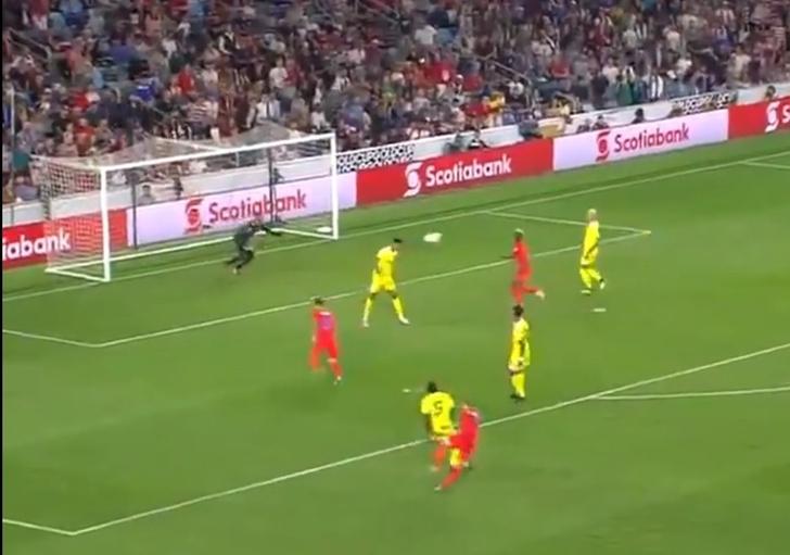 Фото №1 - Самый нечаянный гол этого футбольного сезона (видео)