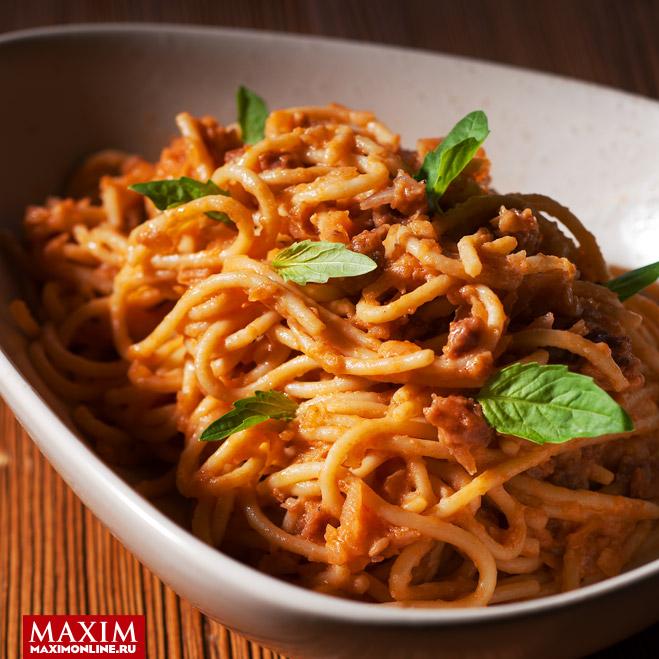 Мясной пирог «Маклауд» в качестве заправки для спагетти