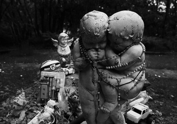 Детское кладбище в Коннемаре