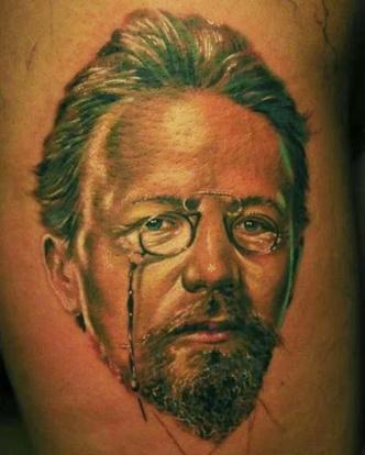 Фото №6 - 13 татуировок для интеллигентных людей
