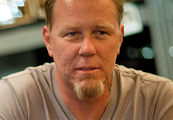 Фото №1 - Фронтмен Metallica впервые сыграет в кинофильме!