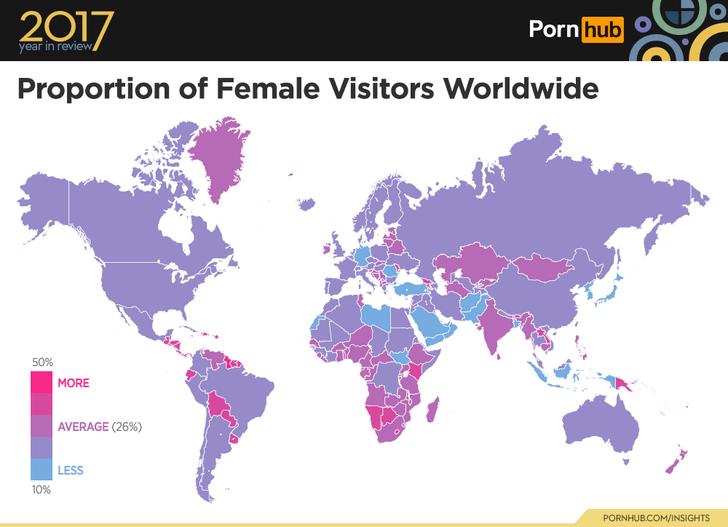 Фото №8 - PornHub подвёл итоги 2017 года