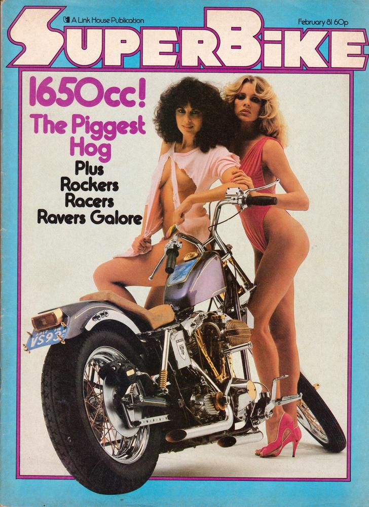 Фото №5 - Сексуальные девушки байкеров из 1980-х!