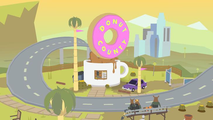 Фото №1 - Вышла самая долгожданная инди-игра — Donut County