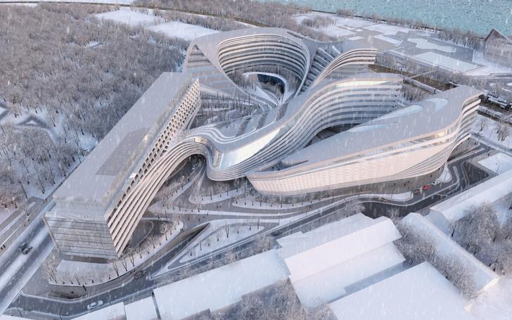 Фото №3 - Самые крутые здания женщины-архитектора Захи Хадид (плюс российские проекты и туфли)