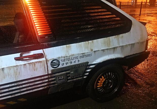 Фото №3 - Житель Екатеринбурга создает автомобили как из игры Cyberpunk 2077 и фильмов про жуткое техногенное будущее (много фото)