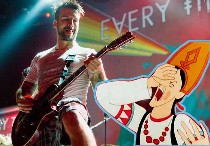 Фото №1 - Музыкант на концерте плюнул фанатке пивом в глаз (случайно!) и спас ей жизнь! Тоже не нарочно!