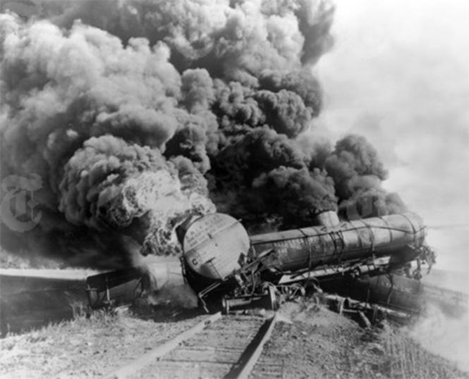 Фото №6 - Самые впечатляющие фото железнодорожных катастроф