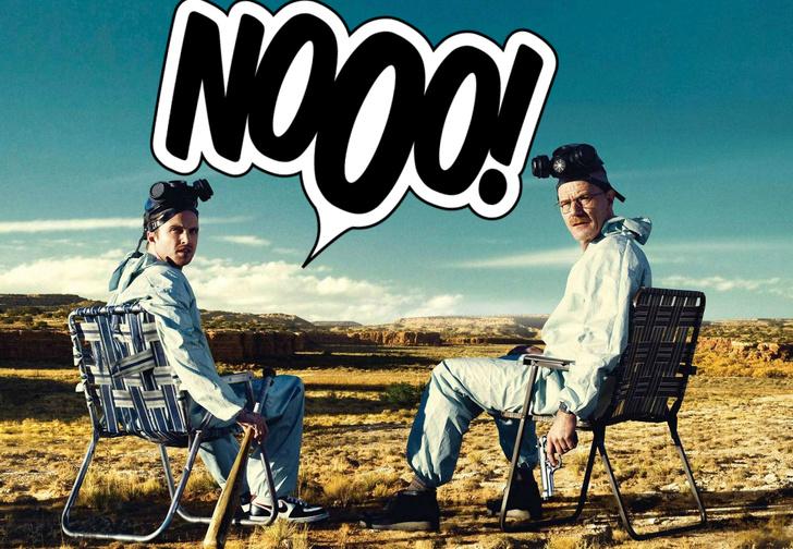 Фото №1 - Разочарование дня: фото Брайана Крэнстона и Аарона Пола оказалось не со съемок фильма «Во все тяжкие»