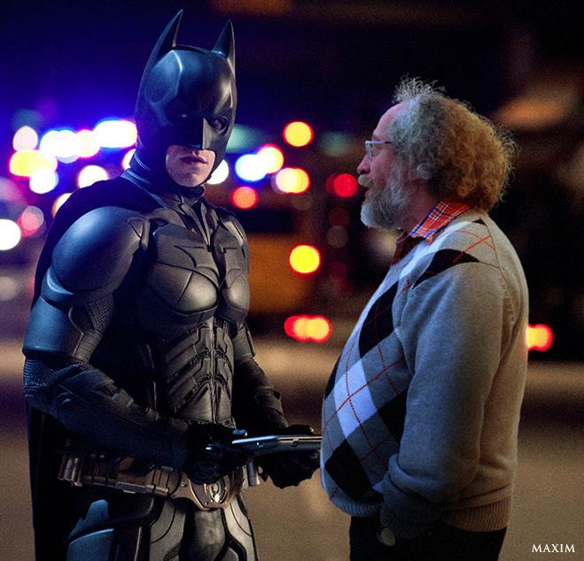 Алексей Венедиктов и Бэтмен