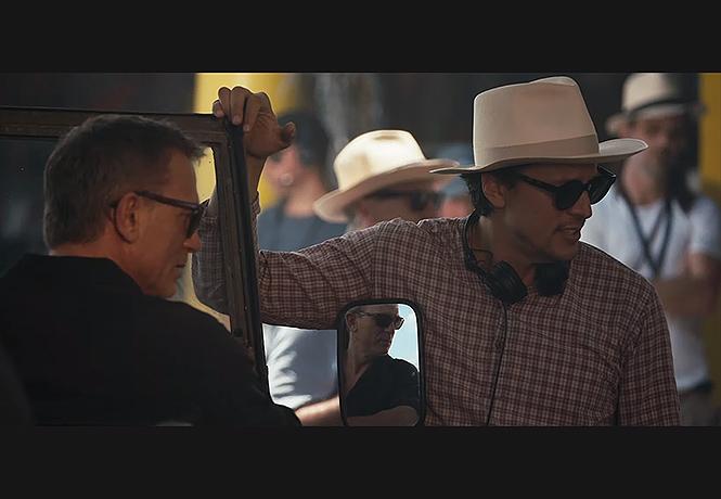 Фото №1 - Первое видео со съемок нового фильма о Джеймсе Бонде