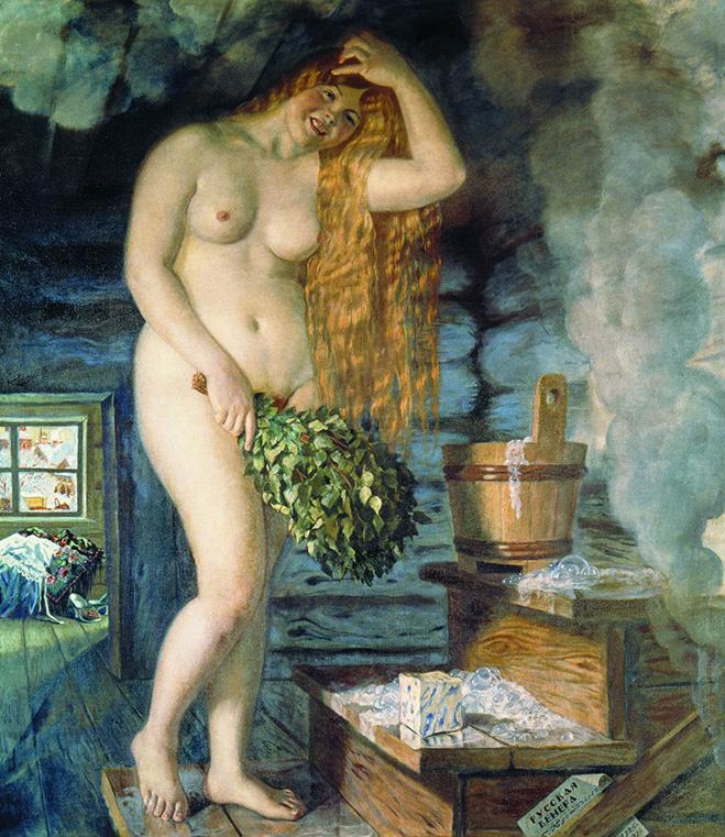 «Русская Венера», Б. М. Кустодиев