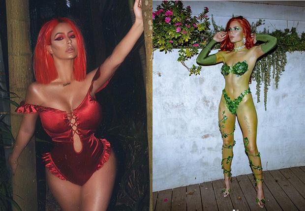 Фото №1 - В каких костюмах отмечали Хеллоуин знаменитости в 2018 году