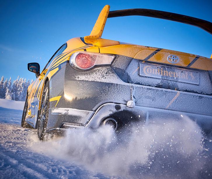 Фото №6 - Continental устроил революцию в мире зимних шин