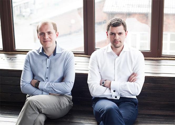 Создатели проекта FoodFox Сергей Полиссар и Максим Фирсов