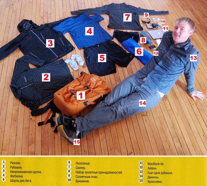 Фото №1 - Человек, которому хватает 15 вещей!