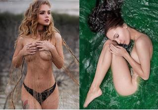 Вестник «100 самых сексуальных женщин страны»: Настя Каменских отдыхает на пляже