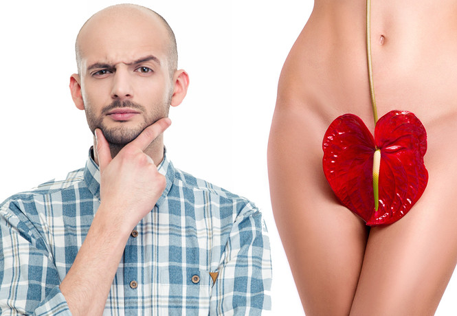 Исследование показало: половина мужчин не знают, где находится влагалище!