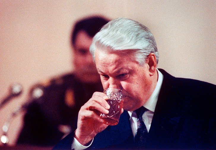 Фото №1 - Алкогений: Борис Ельцин