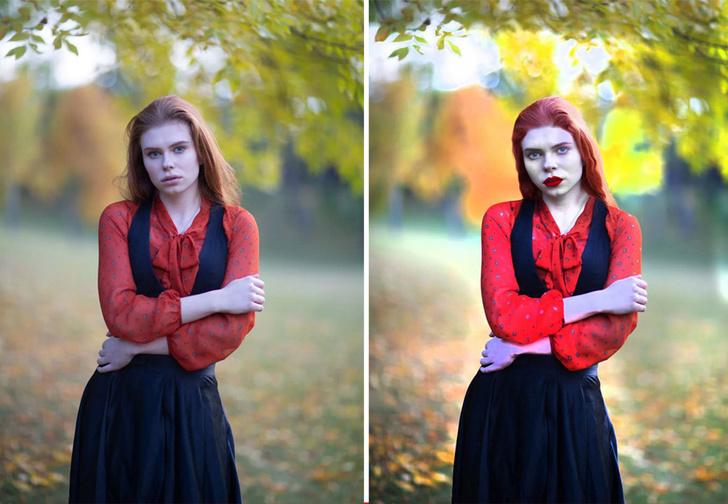 Фото №1 - Фотограф эксперимента ради показала, что такое обработка снимка за 25 центов, 5 долларов и 10 долларов