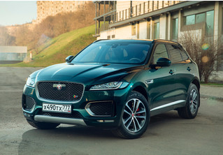 Jaguar F-Pace: кроссовер как предчувствие