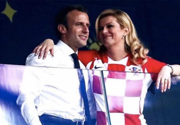 Фото №1 - «Макрон флиртовал с президентшей Хорватии». Иностранцы — о нашем мундиале