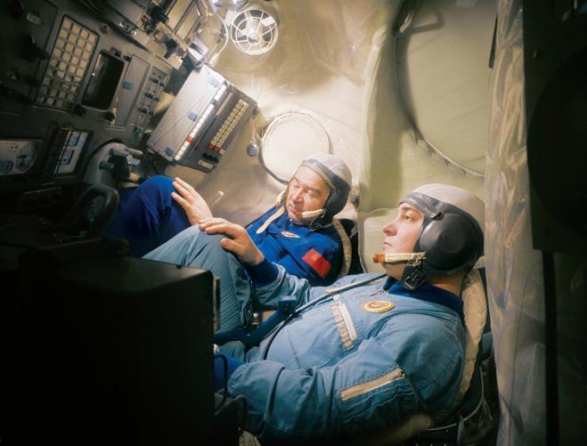 Фото №3 - Космонавт Георгий Гречко: «Мышца ноги за время полета уменьшалась на семь сантиметров...»