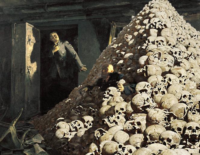 картинка с черепами третьяковская галерея прямого типа