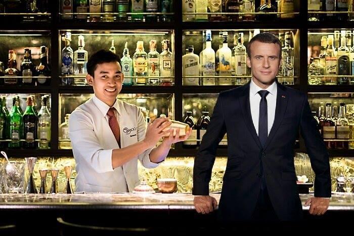 Фото №6 - Лучшие фотожабы на президента Франции Эммануэля Макрона!