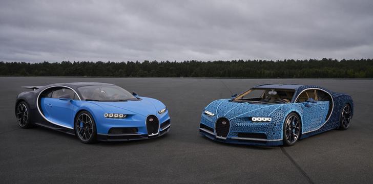Фото №2 - Миллион деталей и десять месяцев: как собирали Bugatti Chiron из кубиков Lego