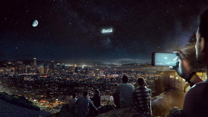 Фото №1 - PepsiCo разместит билборд в космосе
