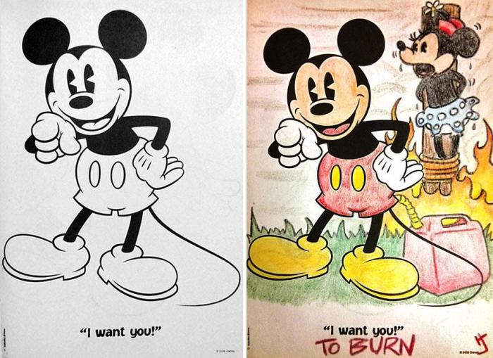 Фото №6 - Я безбожник, я так вижу: Когда детская раскраска превращается в запрещенную литературу